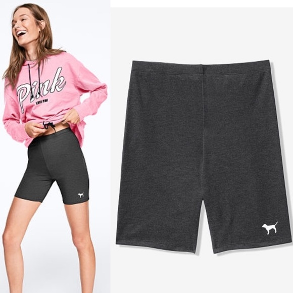 09915123a2 PINK Victoria's Secret Shorts | Vs Pink High Waist Cotton Bike Short ...